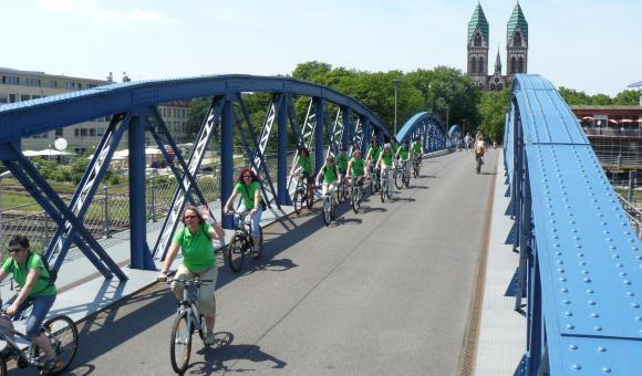 Stadtführung per Rad in Freiburg